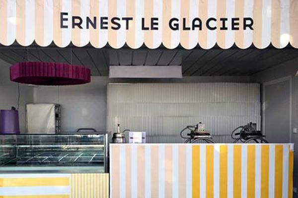 Kiosque Ernest dans sur le site des francofolies de la rochelle