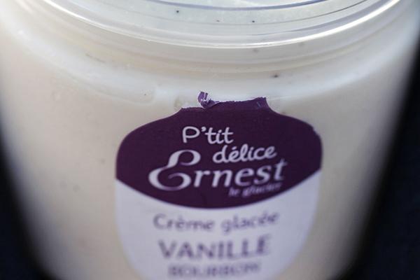 Petit délice crème glacée vanille bourbon