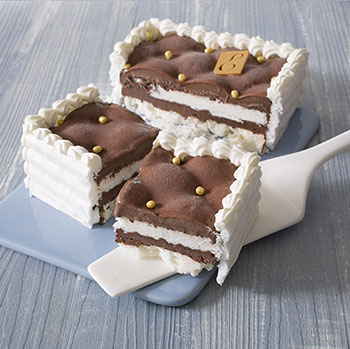 Vacherin chocolat